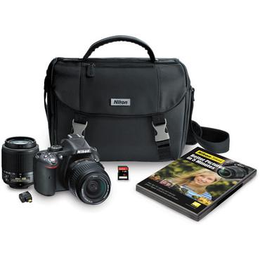 Nikon D5200 Digital SLR Camera Kit with 18-55mm and 55-200mm Lenses (Black)