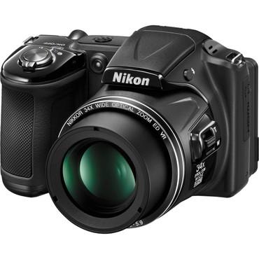 Nikon Coolpix L830 Digital Point and Shoot (Black)