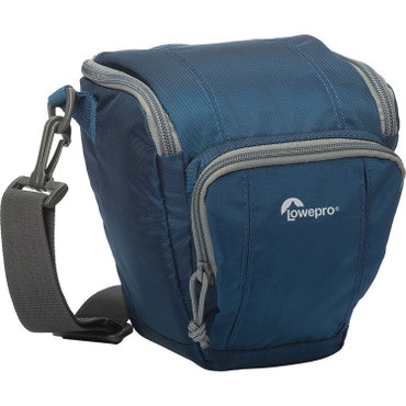 Lowepro Toploader Zoom 45 AW II Camera Daypack, Galaxy Blue LP36701