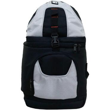 Z-Bag Sling Shoulder Camera & Accessory Backpack w/Adjustable Compartment Silve