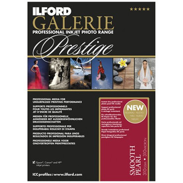 Ilford GALERIE Prestige Smooth Pearl 4x6 Inches, 100 Sheet Pack 2001743