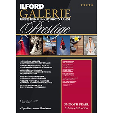 Ilford GALERIE Prestige Smooth Pearl 13x19 Inches, 25 Sheet Pack 2001750