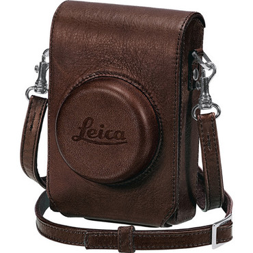 D-Lux 5 Leather Case With Wrist Strap, Brown