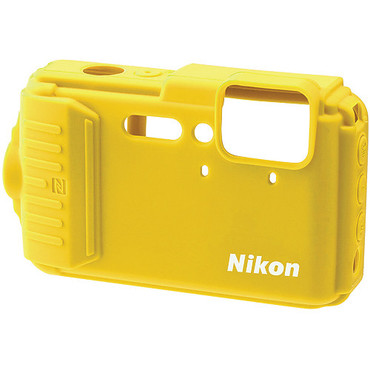 Nikon CF-CP002 Silicone Jacket for COOLPIX AW130 (Yellow)
