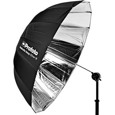 "Profoto Deep and Parabolic 41"" Umbrella, Medium, Silver"