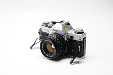 Pre-Owned - Canon AE-1 w/50mm f1.8 FD SILVER