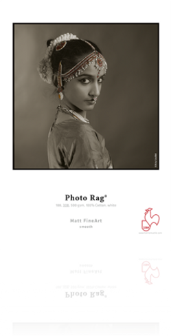 """Hahnemuhle Photo Rag Matte FineArt 188 gsm (8.5"""" X 11"""") - 25 Sheets"""