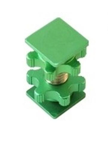 """Cam Caddie 1/4""""-20 Flashner Adapter (Green)"""