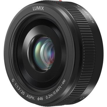 Lumix G 20mm f/1.7 II ASPH. M43 Lens (Black)