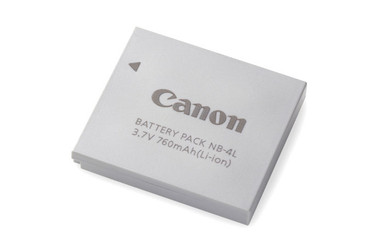 HL-4LHP Lithium Battery F/ Canon NB-4L