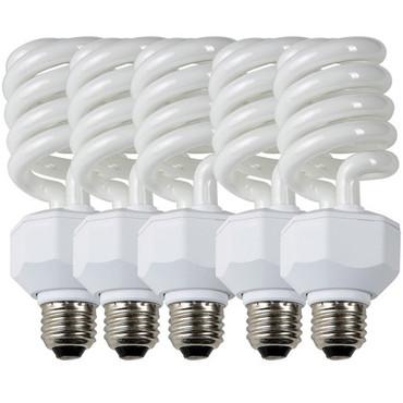 Westcott Fluorescent Lamp for Basics D5 Light Head (27W/120V) 5-Pack