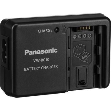 Panasonic VW-BC10 Battery Charger for VW-VBT380, VW-VBT190, VW-VBY100, VW-VBK180, VW-VBK360