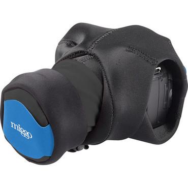 miggo Grip and Wrap for DSLR Cameras (Black and Blue)
