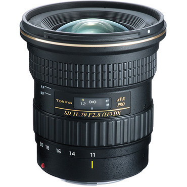 Tokina AT-X 11-20mm f/2.8 Pro DX Digital Ultra Wide Zoom Lens for Canon EF DSLR