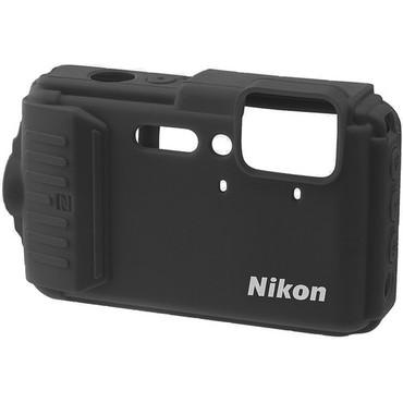 Nikon CF-CP002 Silicone Jacket for COOLPIX AW130 (Black)