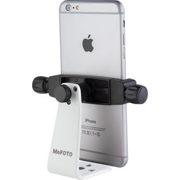 MeFOTO SideKick360 Plus Smartphone Tripod Adapter (White)
