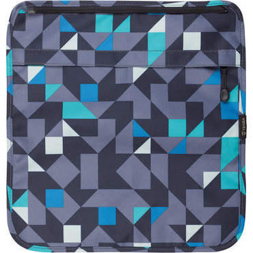 Tenba Switch Cover 10 (Blue and Gray Geometric)