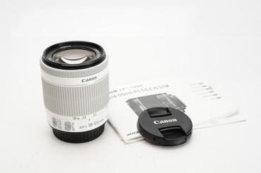 Canon EF-S 18-55Mm F/3.5-5.6 IS STM WHITE-   New White Box