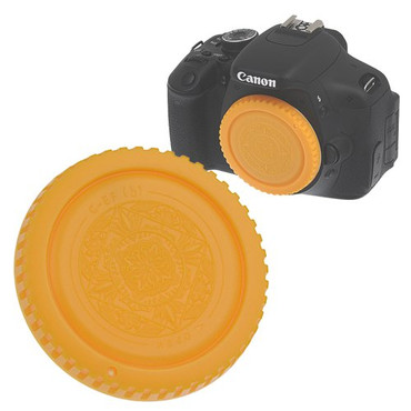 Fotodiox Designer Body Cap for Canon EOS, Yellow