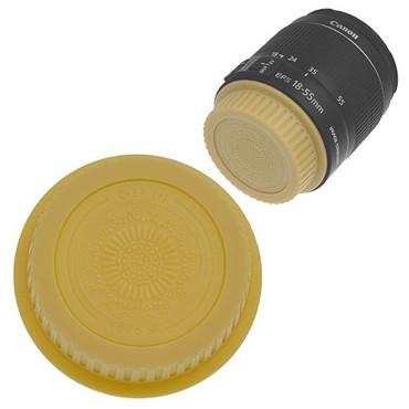 Fotodiox Designer Rear Lens Cap for Canon EOS, Gold