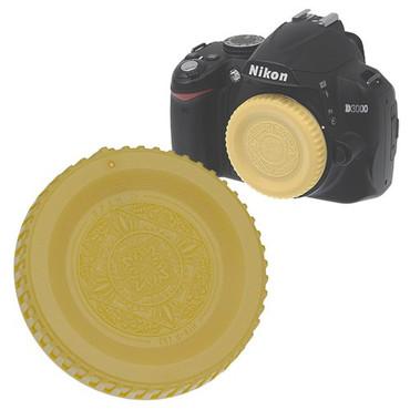 Fotodiox Designer Body Cap for Nikon F, Gold