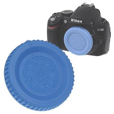 Fotodiox Designer Body Cap for Nikon F, Blue