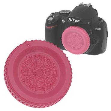 Fotodiox Designer Body Cap for Nikon F, Pink
