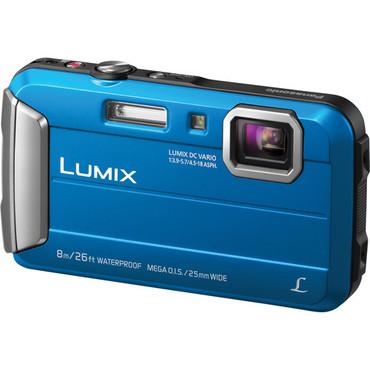 Lumix DMC-TS30 Digital Camera (Blue)