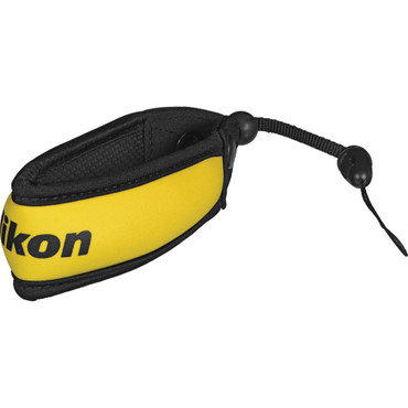 Nikon Floating Strap for COOLPIX AW130 and S33 (Yellow)