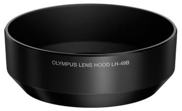 Olympus LH-49B Lens Hood for 14-42mm f/2.8 Micro Four Thirds Lens (Black)