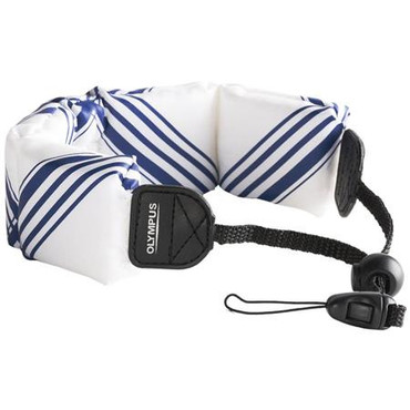 Float Strap (White/ Blue)