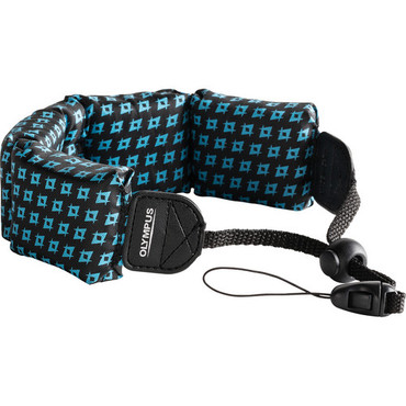 Float Strap (Black/ Blue)