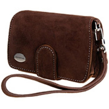 Premium Compact Leather Case Choclat For 740/750