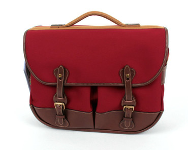 Billingham Photo Eventer Special Edition (Burgundy/Choc Leather Trim)