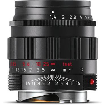 Leica Summilux-M 50mm f/1.4 ASPH. Lens (Black-Chrome Edition)