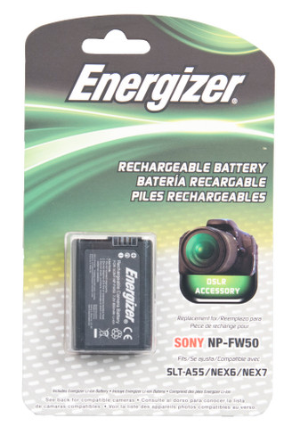 Energizer ENB-SFW50 Digital Replacement Battery NP-FW50 For Sony A33