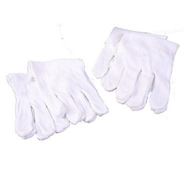 Cotton Gloves Pkg/4 Pairs