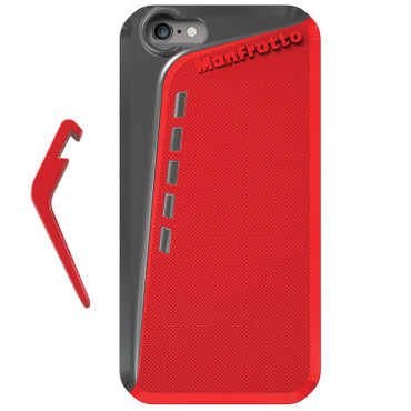 Manfrotto KLYP+ Photographic Bumper Case with Kickstand for Apple iPhone 6 (Red)