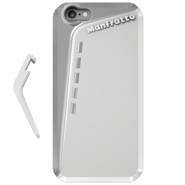 Manfrotto KLYP+ Photographic Bumper Case with Kickstand for Apple iPhone 6 (White)