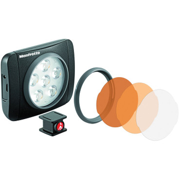 Manfrotto MLUMIEART-BK LUMIE SERIES ART LED LIGHT- BLACK (Black)