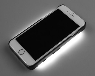 Stellar Professional Video Light & Power Pack For iPhone 6 (Black)