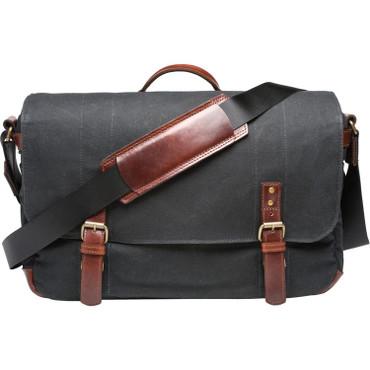 ONA Union Street Messenger Bag (Black)