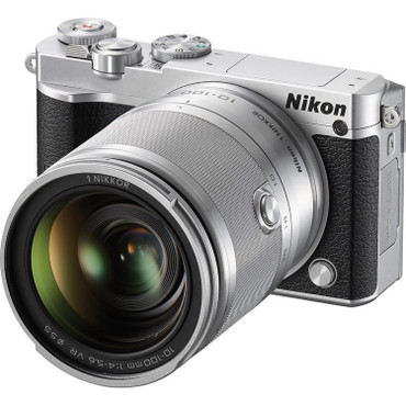 Pre-Owned Nikon 1 J5 Mirrorless Digital Camera with 10-100mm Lens (Silver)