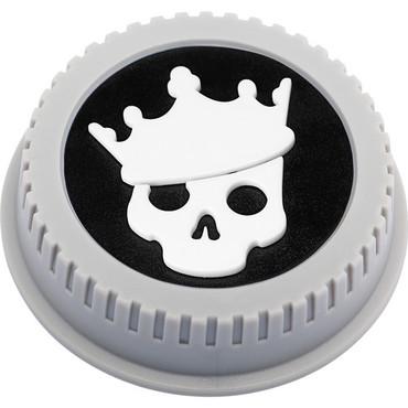 BlackRapid LensBling Skull with Crown Cap for Nikon Lenses