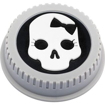 BlackRapid LensBling Skull with Bow Cap for Nikon Lenses