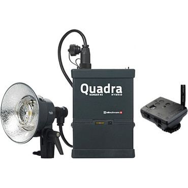 Elinchrom Quadra Living Light Kit with Lead Battery, S Head and Transmitter