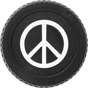 BlackRapid LensBling Peace Sign Front Body Cap for Canon Cameras