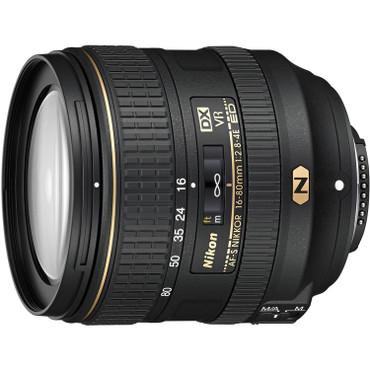 Nikon AF-S DX 16-80mm f/2.8-4E ED VR Nano Lens