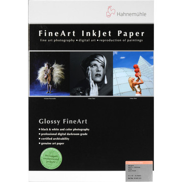 """Hahnemuhle FineArt Baryta Satin Paper (25 Sheets, 13 x 19"""", 300 gsm)"""