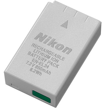 Nikon EN-EL24 Rechargeable Lithium-Ion Battery Pack for Nikon 1 J5